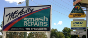 mcaully group smash repairs